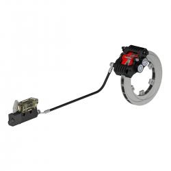 RR Speed EVO2 Achterremsysteem, Zwart