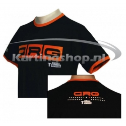 CRG T-Shirt Negro-Naranja