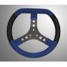 KG stuur wiel Blauw Alcantara 320mm