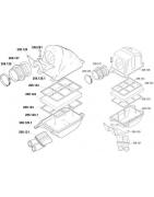 Luchtfilter en onderdelen