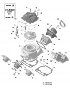 Cylinder EVO Rotax Max